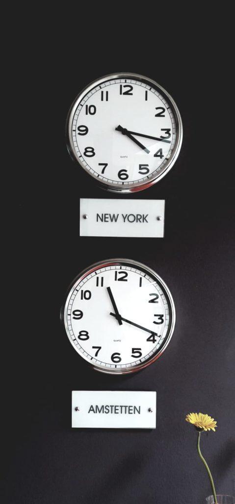 Die Heteronomie der Zeitzonen